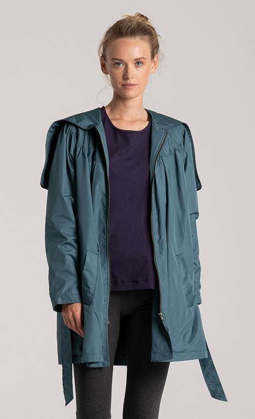 coat womens recycled fabric
