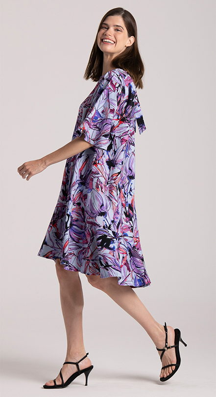 dress print cotton