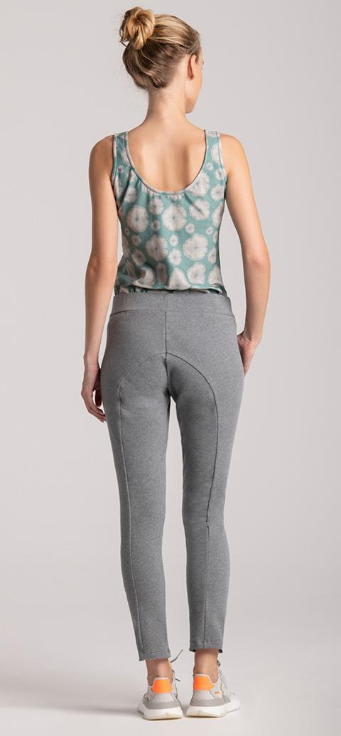 joggers grey cotton organic