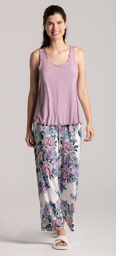 pyjama set peont print