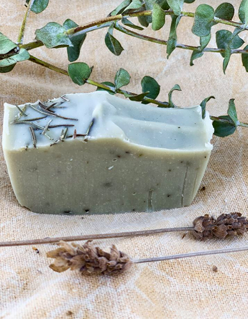 handmade soap rosmery