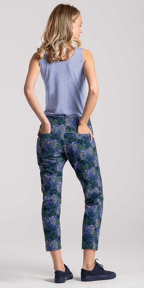 sweatpants exotic print6