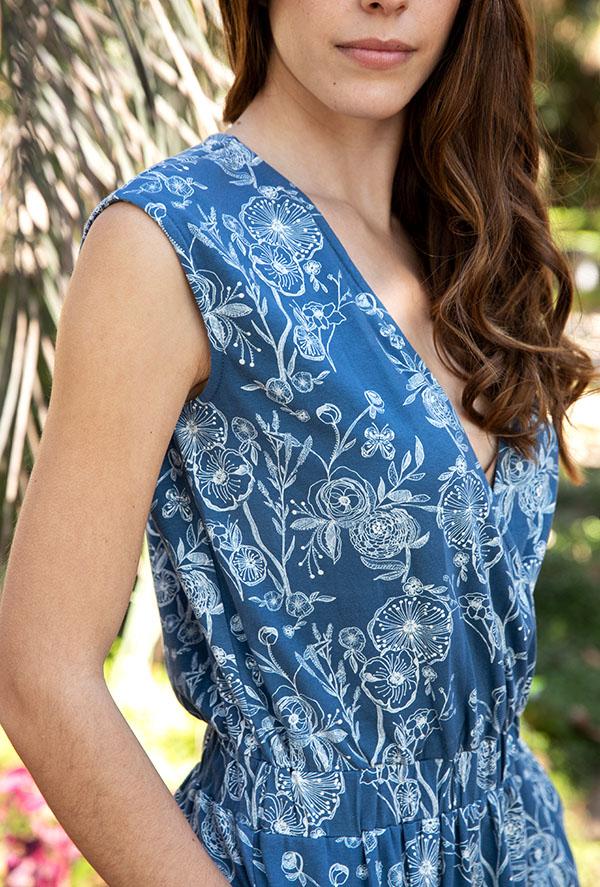 blue stone dress 3