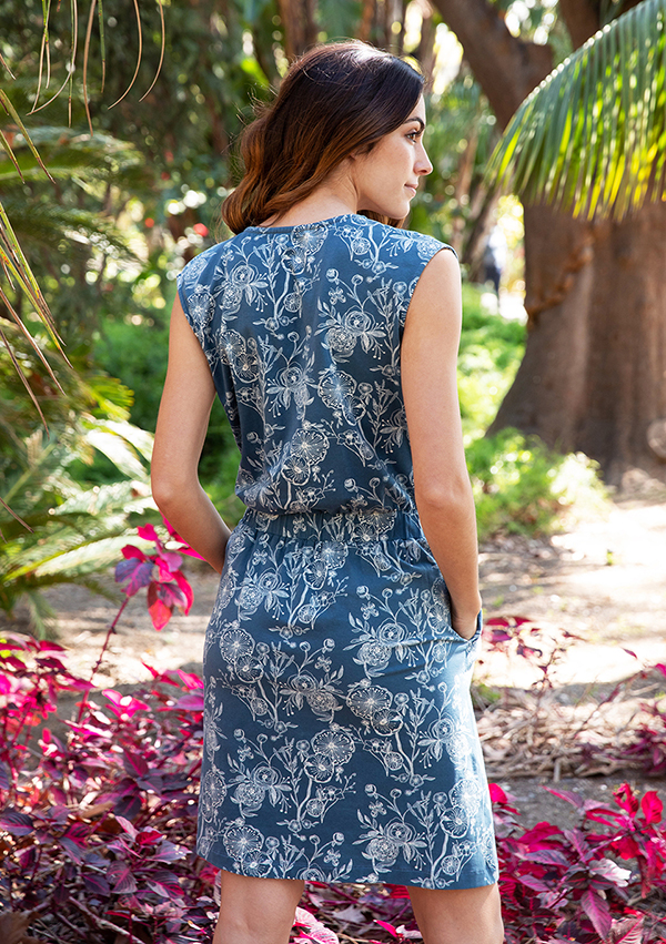 blue stone dress 5