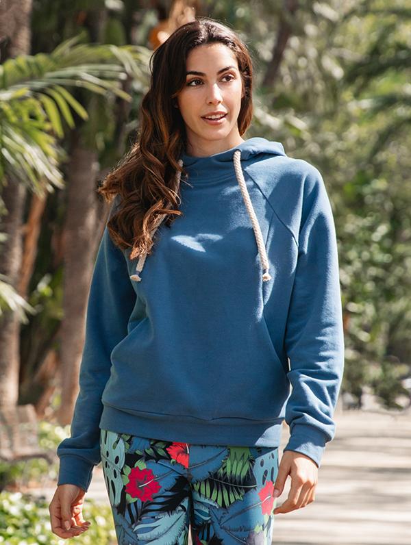blue stone hoodie