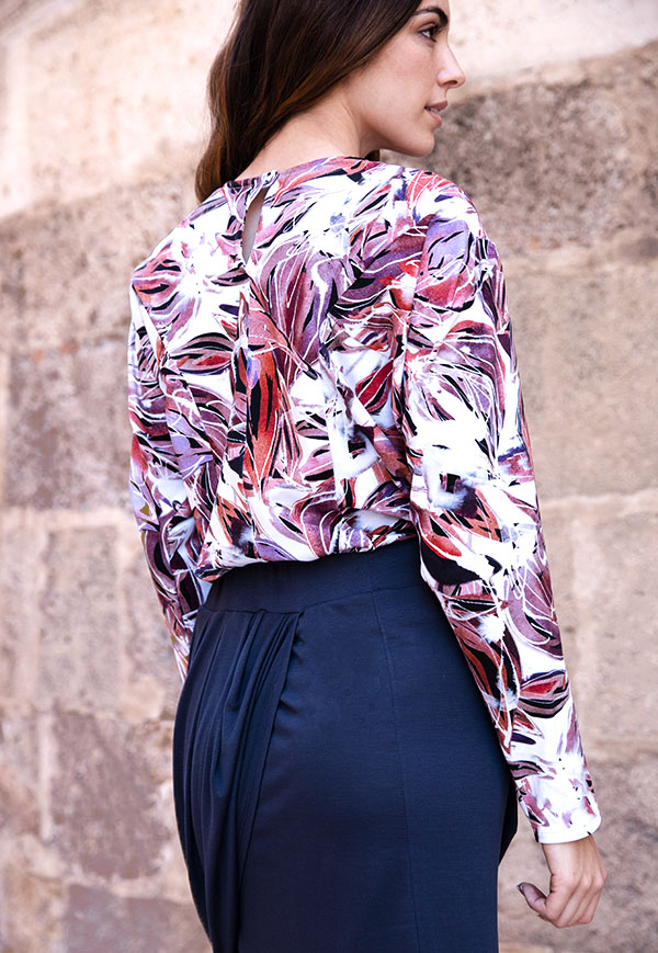 orchid print top 3