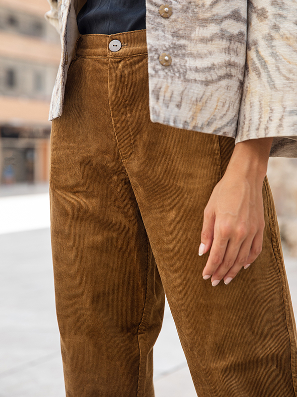 amber corduroy trousers 1