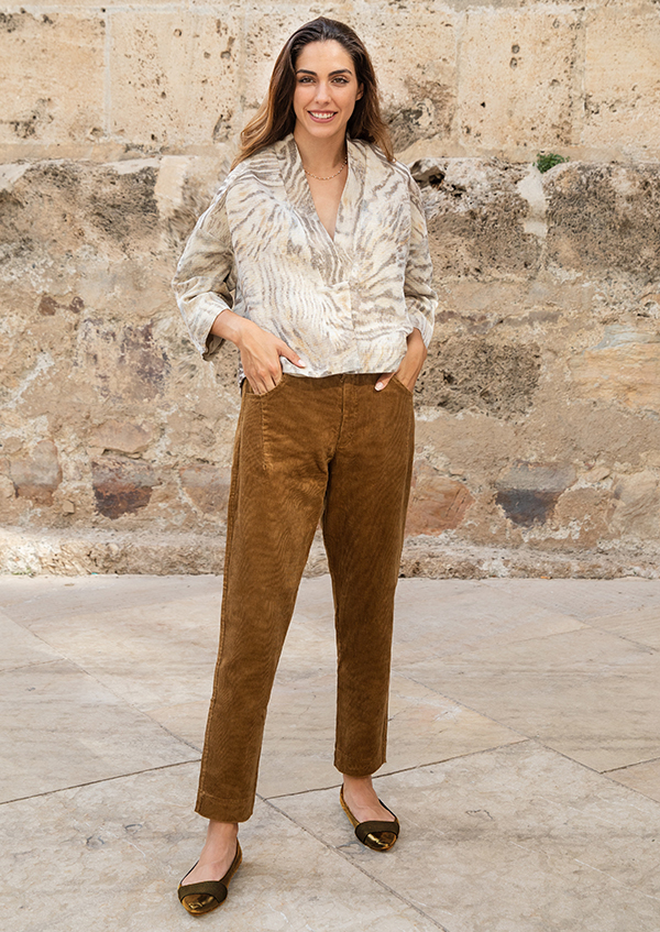 amber corduroy trousers