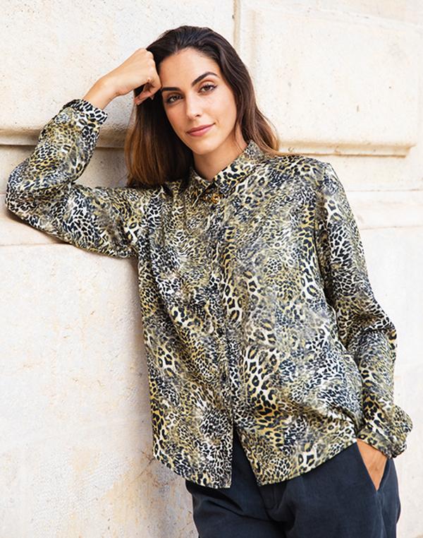 blouse lepard 1