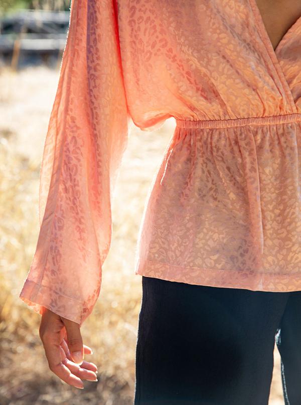 pink leopard blouse 3