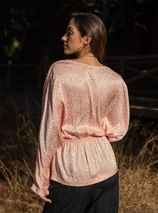 pink leopard blouse 4