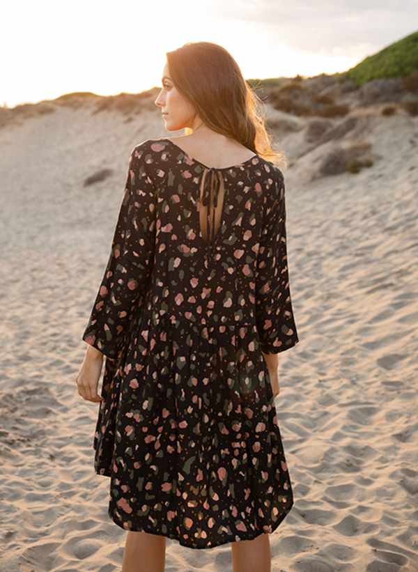 spotted print dress 5